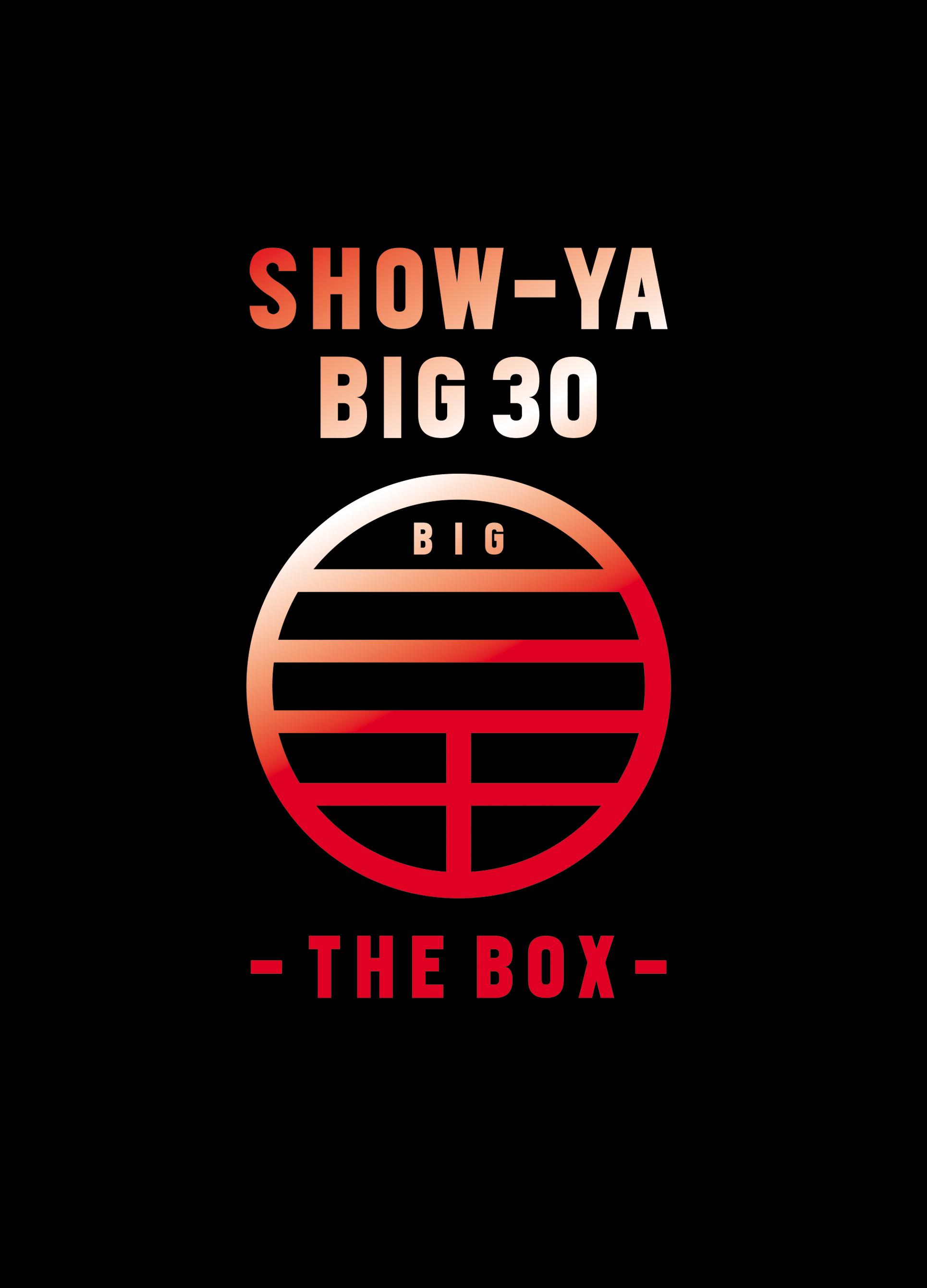 SHOW-YA BIG 30-THE BOX-
